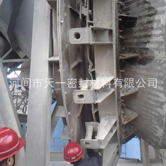 云南师宗明驰水泥厂窑尾改造过程图